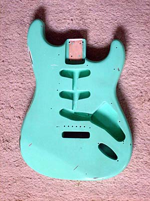 Surf Green relic body