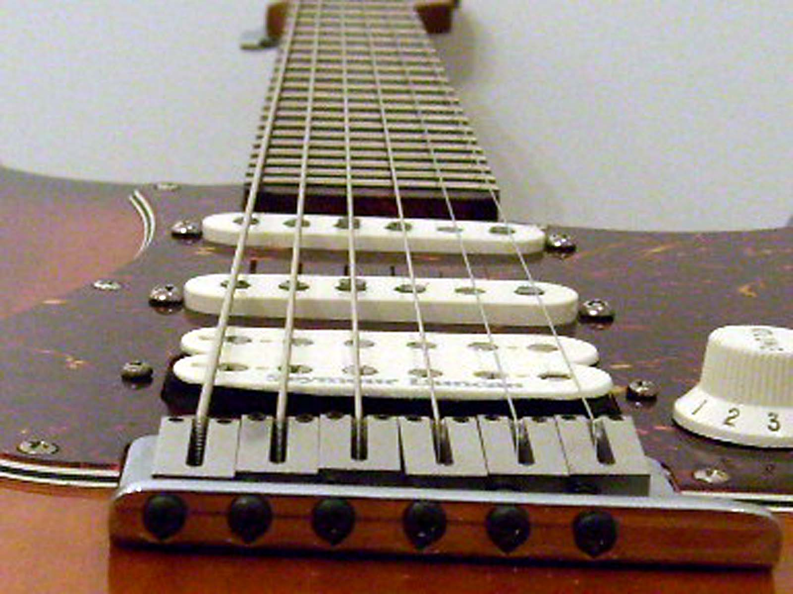 Retrofit flat fretboard neck, custom made for USA STRAT